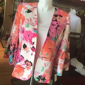 NINE WEST colorful blazer